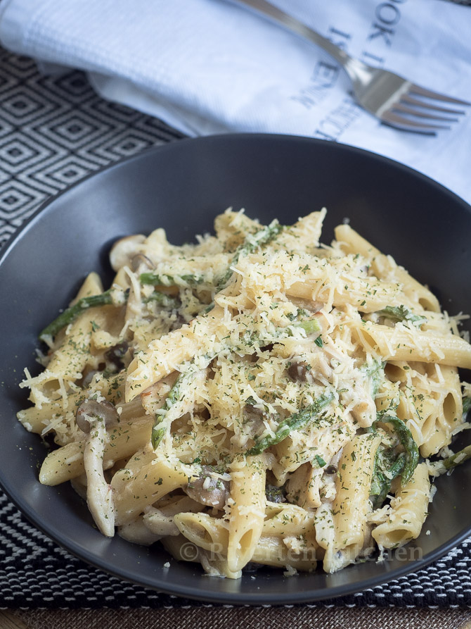 Penne Pasta With Cream Cheese Sauce