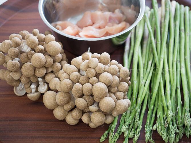 Vegetables for White sauce Pasta