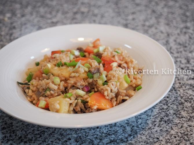 Pineapple Fried Rice Adobo