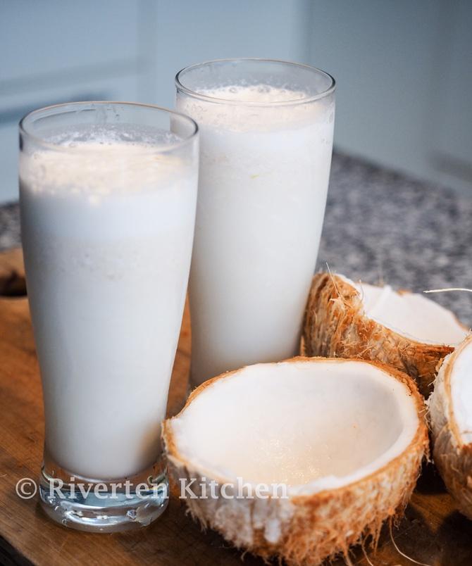 Coconut Lychee Shake