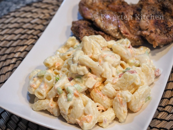 Baked Chicken And Macaroni Salad