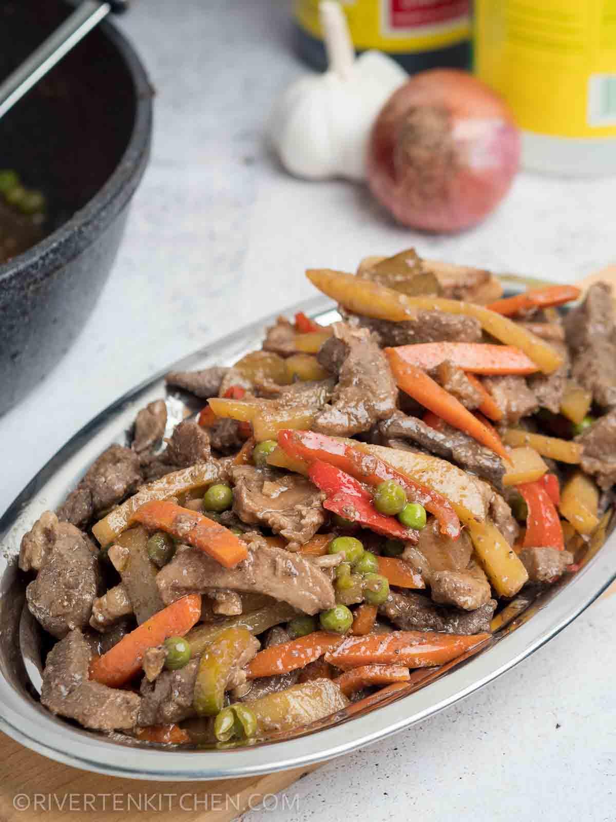 Pork Igado Recipe Riverten Kitchen