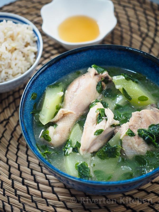 Filipino Chicken Ginger Soup