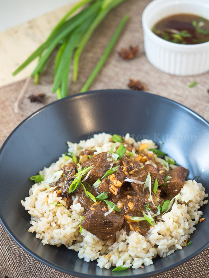 Making Beef Pares At Home