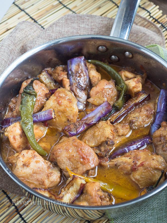 Chicken Stewed In Shrimp Paste And Aromatics