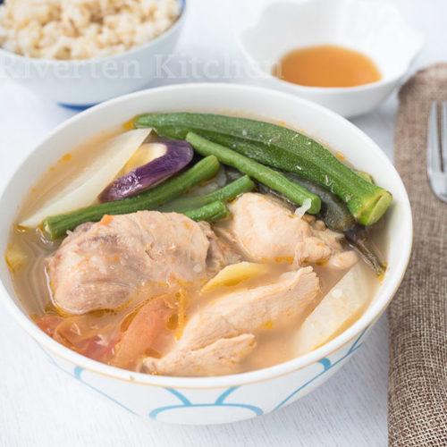Bowl of Chicken Sinigang