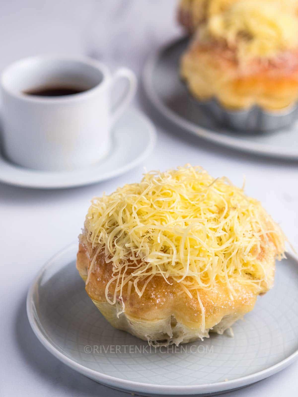 Soft Ensaymada Bread Rolls