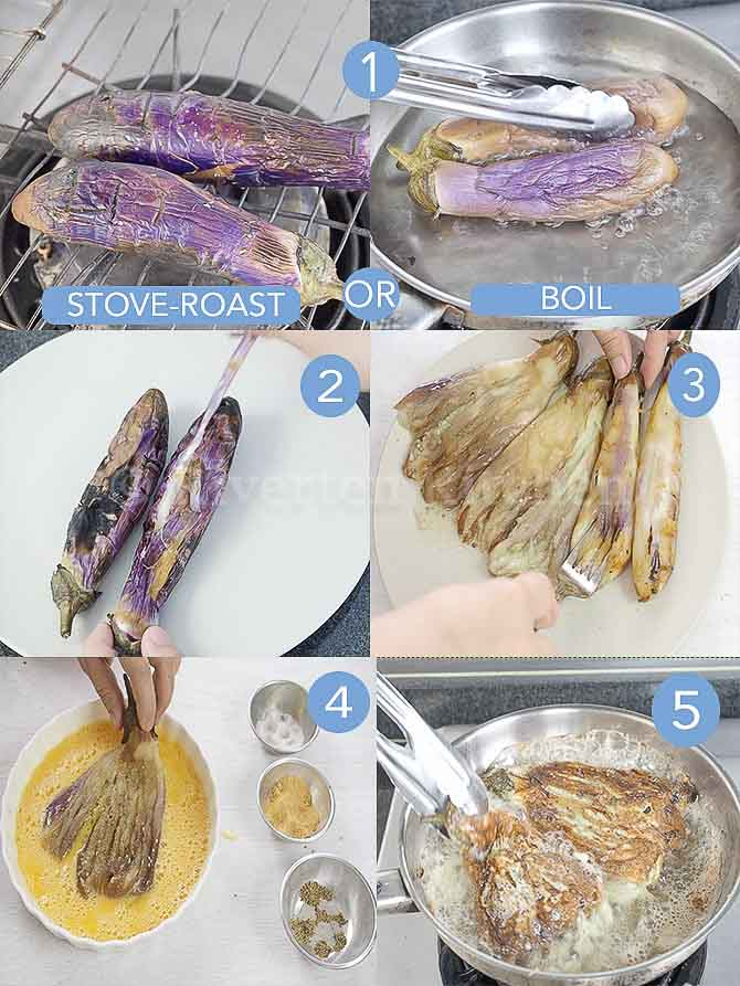 show how to cook tortang talong