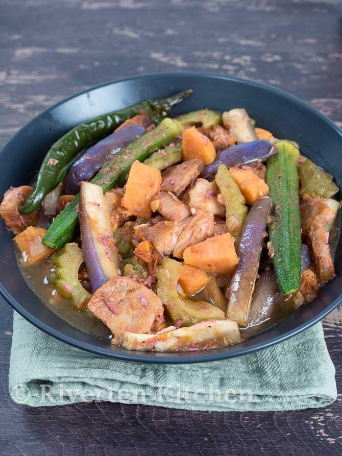 Pork Pinakbet Recipe Sa Bagoong