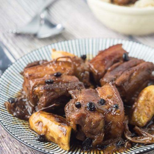 Tender Pork Humba recipe