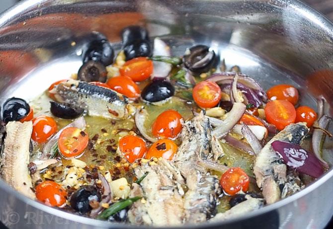 sardines in oil recipe