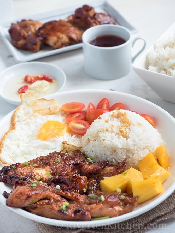 Tocilog Filipino Breakfast