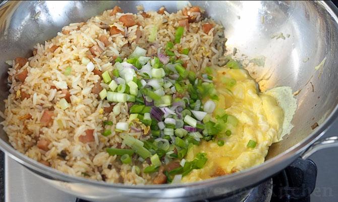 Egg Fried Rice procedure