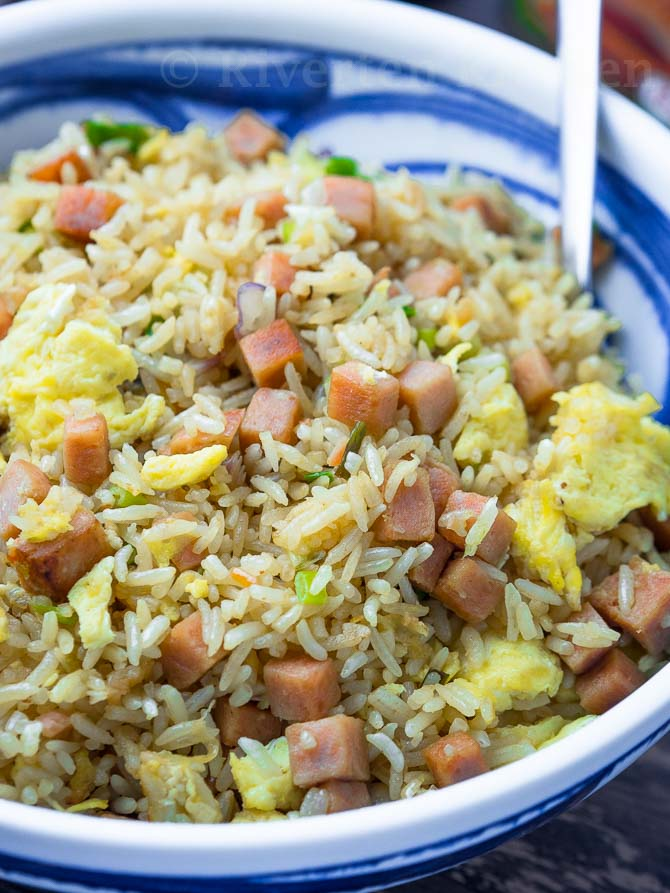 Spam Yang Chow Fried Rice Riverten Kitchen