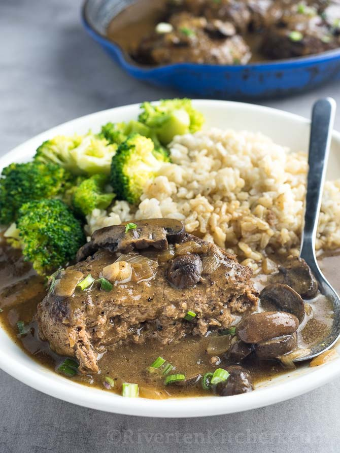 Recipe Of Salisbury Steak With Mushroom Gravy