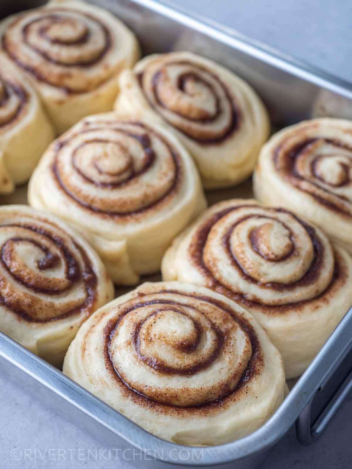quick rise cinnamon dough rolls