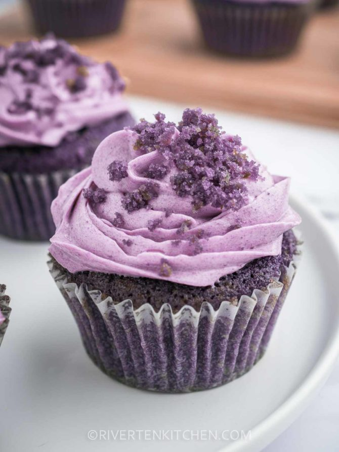 Buttercream Ube Flavored Frosting