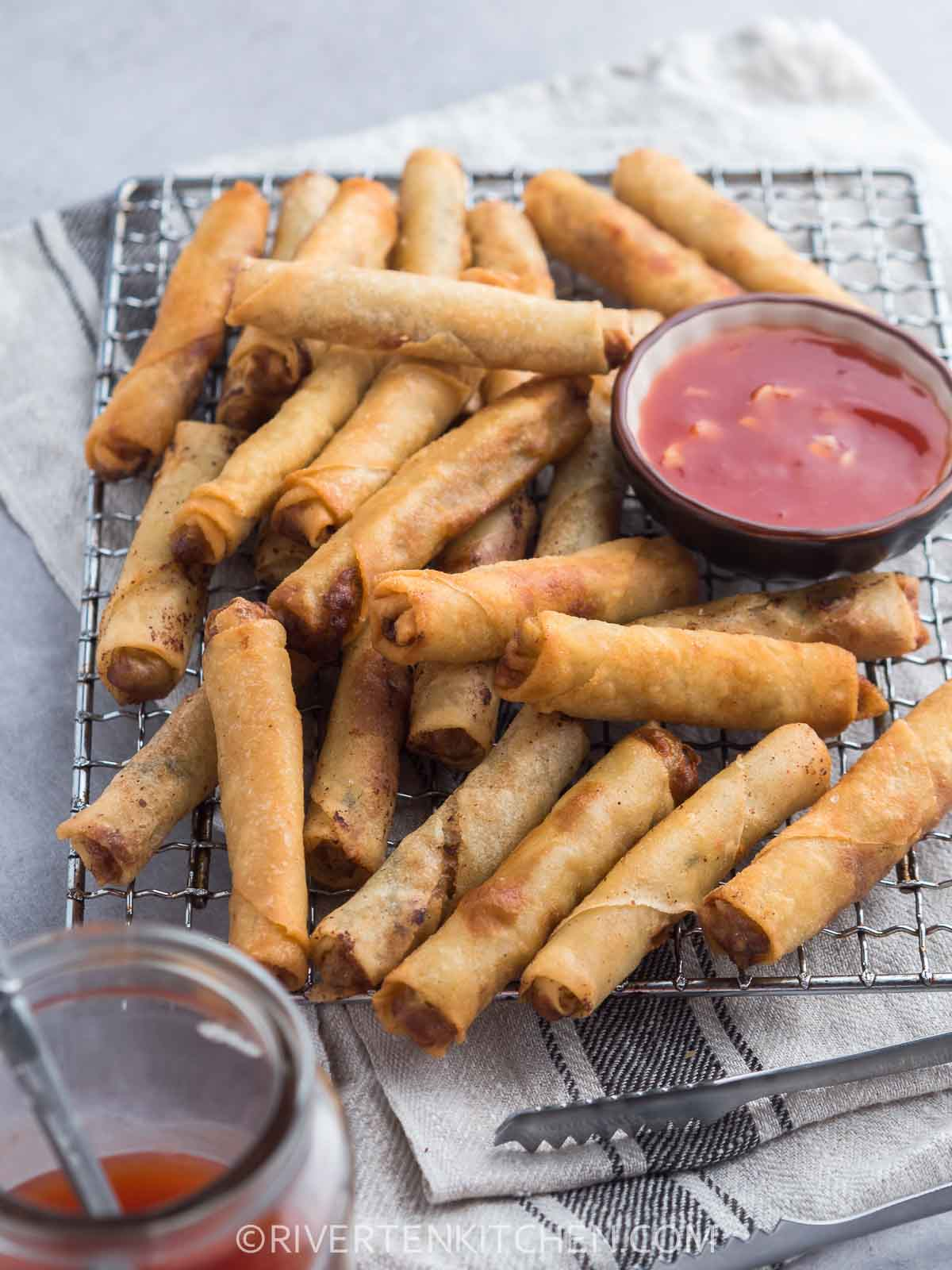 Lumpia-Fried Spring Rolls Filipino Style