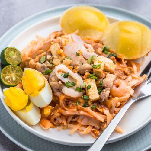 Simple And Easy Pancit Palabok Riverten Kitchen