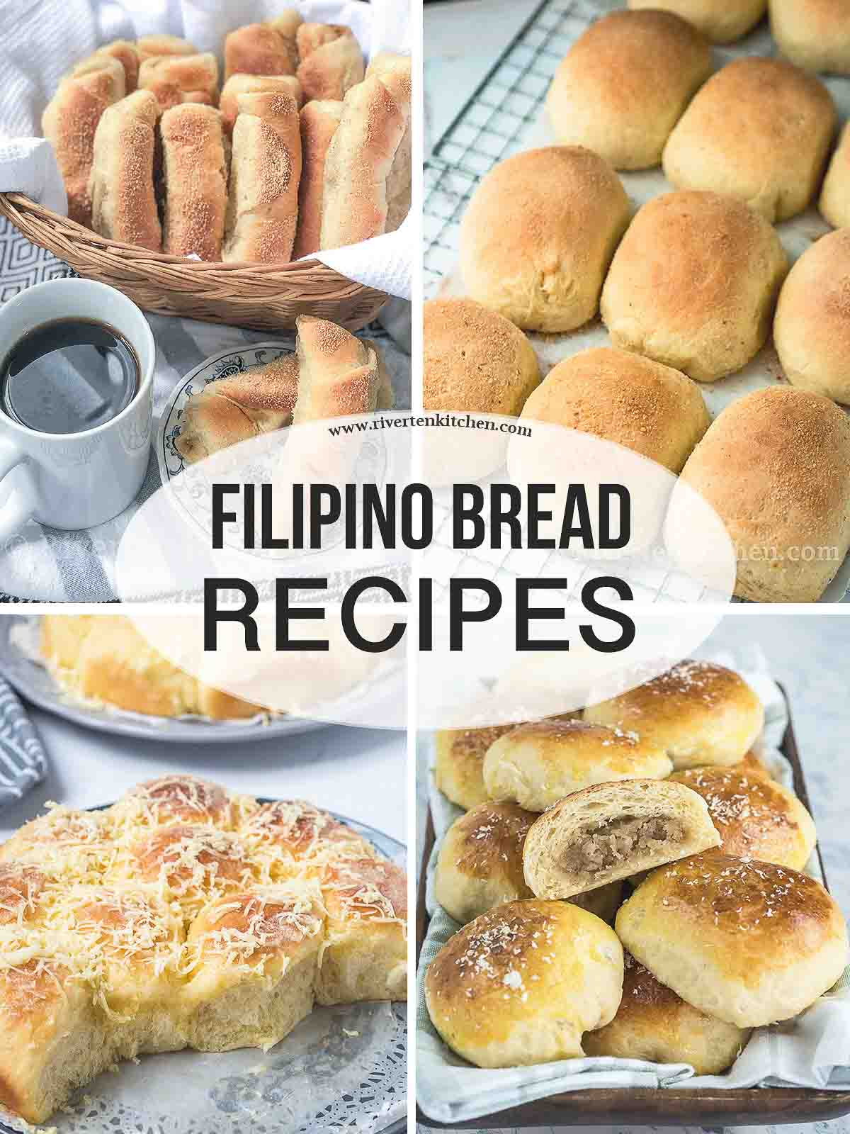 Filipino Bread Recipe Collection