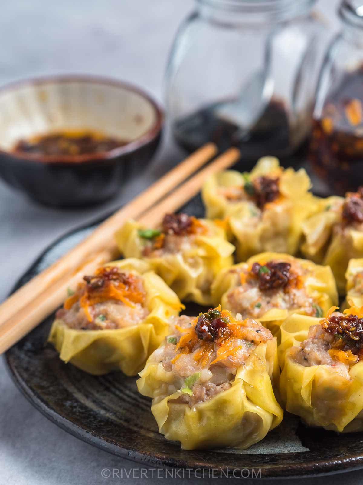 Shumai made of Pork and Shrimp
